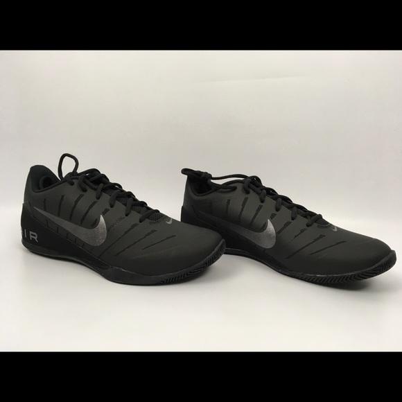 Nike Air Mavin Low 2 Basketball Shoes Black 9.5